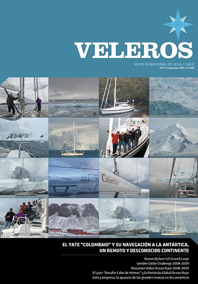 """El Yate """"Colombaio"""" y su navegación a la Antártica"""