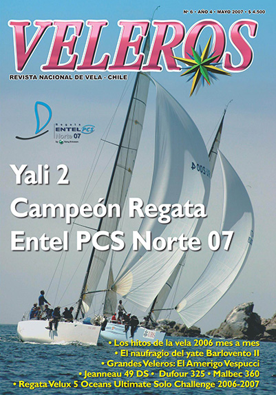 Yali 2 Campeón Regata Entel PCS Norte 07